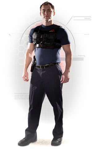 Weight Training Vest for Police