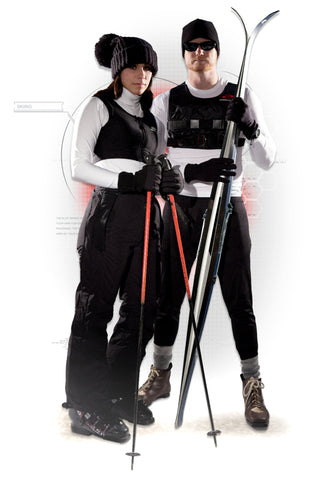 Skiing with a Weighted Training Vest