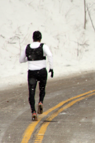 Running in a Weight Vest - Resistance Wear