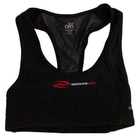 Resistance Wear Black Sports Bra