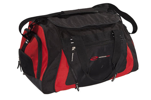 CargoMax Gym Bag at ResistanceWear.com - Red & Black