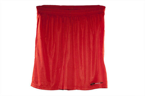 Men's PowerUp Training Shorts at ResistanceWear.com - Red