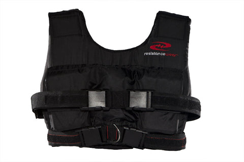 LiftMax 40 Weight Vest (w/ 10 lbs.) at ResistanceWear.com