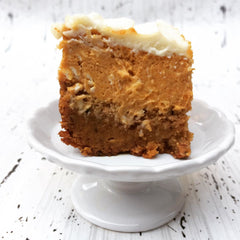 Double Pumpkin Spice Cheesecake Bars