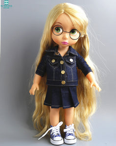 Disney Animator Clothes: Denim Jacket and Skirt