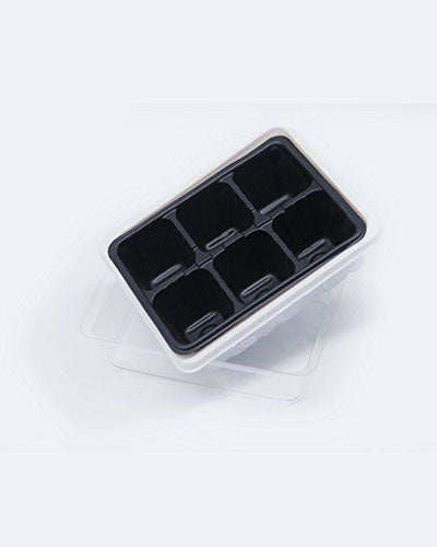 10PCS 6 Cells Hole Plant Seeds Grow Box Nursery Pots Seedling Starter Trays Propagation Cloning Case