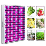 ED Grow Light - 450W Grow Lights for Indoor Plants Veg and Flower Full Spectrum with Two Channel(Veg&Bloom) and Double Switch