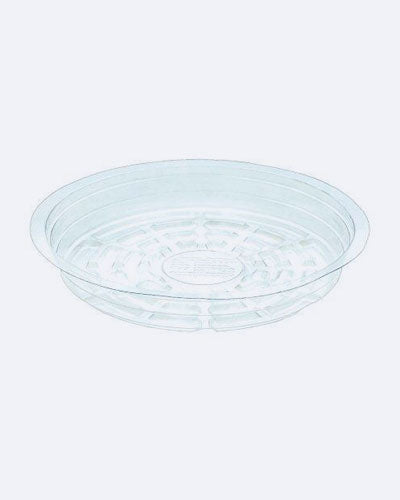"My Garden Kit 12"" Inch Pack Of 5 Clear Plant Saucer"