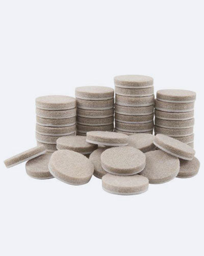 SoftTouch Self-Stick Furniture Round Felt Pads