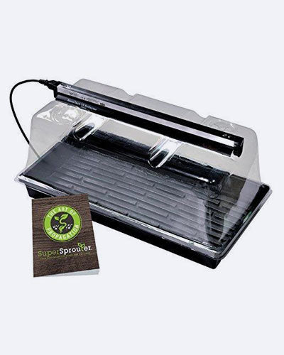 SunBlaster Mini Greenhouse Kit With NanoDome A Horticultural T5 Fluorescent Lighting Made Available For Today's Indoor Growing Enthusiasts And Professionals