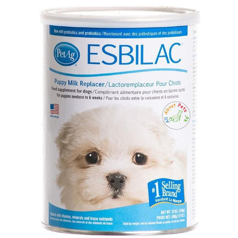 Esbilac Puppy Milk Replacer Powder 340g available in Pakistan at allaboutpets.pk