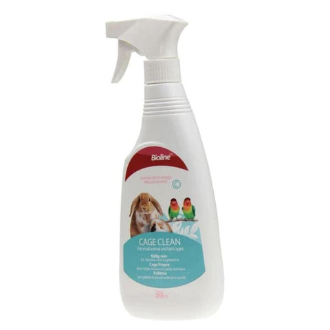 Bioline cage clean spray 500ml available at allaboutpets.pk