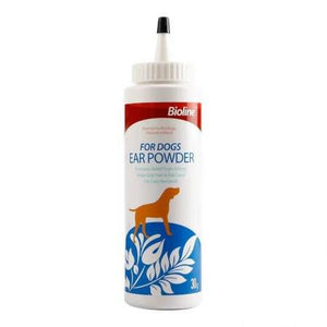 Bioline Ear Powder For Dogs 30g available at allaboutpets.pk in Pakistan