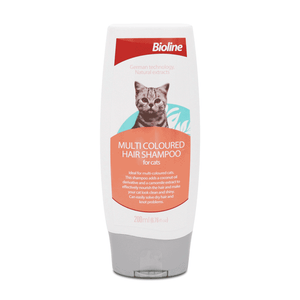 Bioline Multi-Coloured shampoo available at allaboutpets.pk