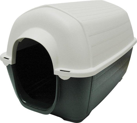 Dog House Ferplast Kenny 3 With Door for small dogs and cats, looks like an igloo and provides excellent insulation at both high and low temperatures available at allaboutpets.pk in pakistan.