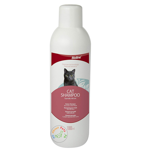 Image of Bioline Cat Shampoo 1000ml available in Pakistan at allaboutpets.pk