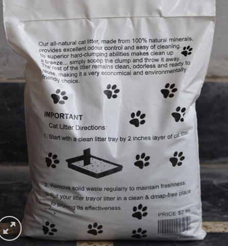 Remu Clumping Cat Litter 5 KG, Quick Clumping, Reduces Odor, Anti Bacterial, Long Lasting available at allaboutpets.pk in pakistan.