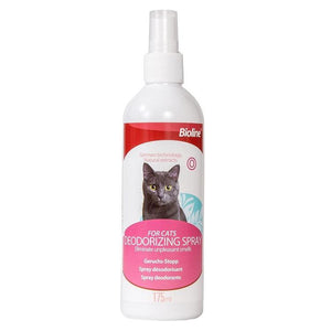 Bioline Deodorizing Spray for Cats 175ml available at allaboutpets.pk