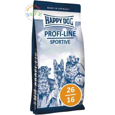 HAPPY DOG Profiline Sportive (26/16) 20 Kg available in Pakistan at allaboutpets.pk