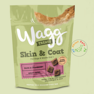 Wagg Skin & Coat - Duck & Cranberry 100g available at allaboutpets.pk in pakistan