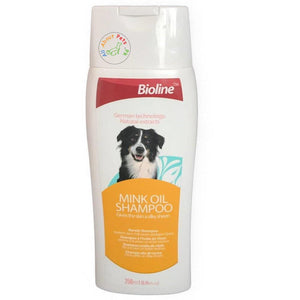 Bioline Mink Oil Shampoo available at allaboutpets.pk