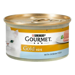 Gourmet Gold Pate Ocean Fish 85g, cat wet food available at allaboutpets.pk in pakistan.