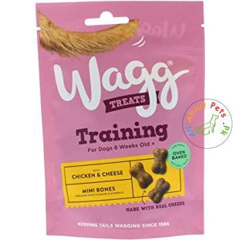 Wagg Training Treats For Dogs Chicken & Cheese 100g available at allaboutpets.pk in Pakistan