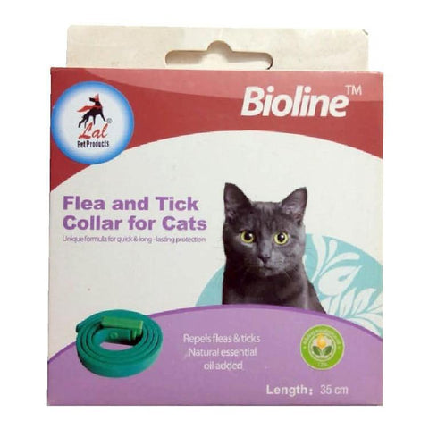 Bioline Flea and Tick Collar for Cats available at allaboutpets.pk