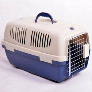 Jet Box Small For Small Dogs & Cats, pet carry box blue and white, pet travel box available at allaboutpets.pk in pakistan.