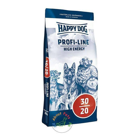 Happy Dog Food 30-20 High Energy 20 Kg available in Pakistan at allaboutpets.pk