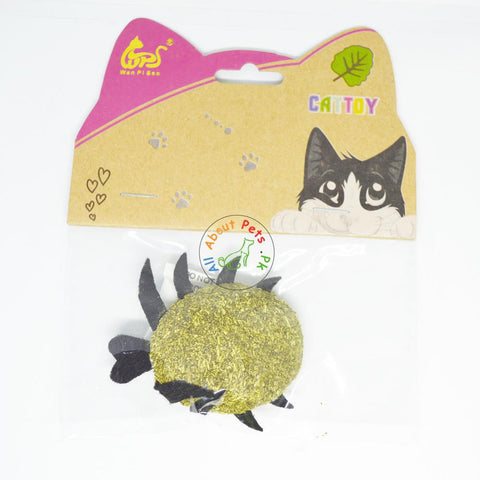 Image of Catnip Compressed Toy For Cats crab available at allaboutpets.pk in Pakistan