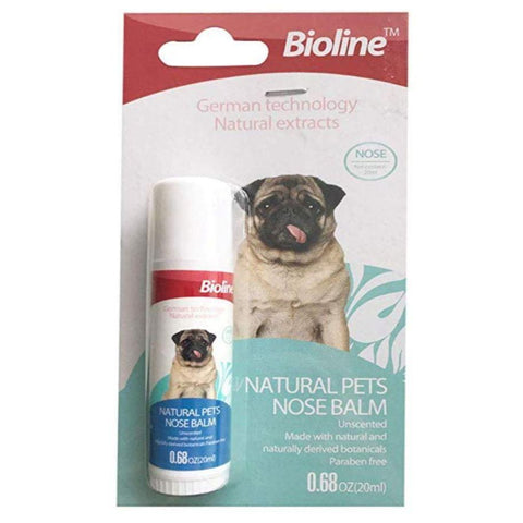 Bioline Natural Pets Nose Balm 20ml available at allaboutpets.pk
