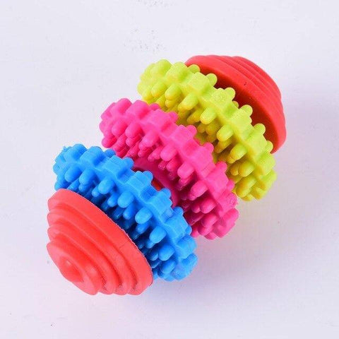 Puppy Dental Teething Toy multi color rings non toxic 3 rings available at allaboutpets.pk in pakistan.