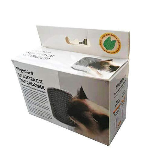 Image of Flightbird 3.0 SOFTER Cat Self Groomer with Catnip, Dog Cat Corner Groomer, Wall Corner Massage available at allaboutpets.pk in pakistan