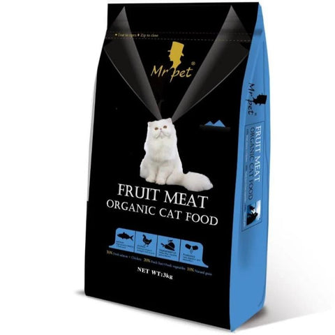 Image of Mr Pet Organic Cat Food available at allaboutpets.pk in pakistan.