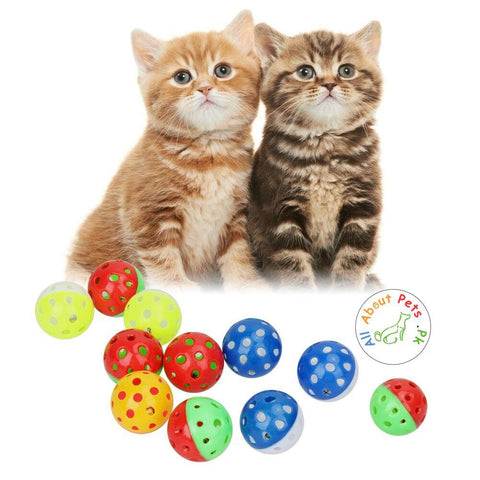 Cat Toy Ball With Bell  available at allaboutpets.pk in Pakistan