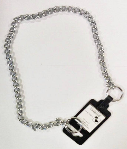 Choke Chain Chrome for dogs Ferplast  50 cm available at allaboutpets.pk in pakistan.