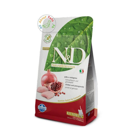 Farmina N&D Grain Free Kitten Chicken & Pomegranate