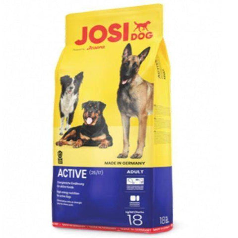 Josera Active Dog Food 18kg available in pakistan at allaboutpets.pk