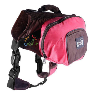 Dog Bag Pack pink color For Small & Medium Sized Dogs available at allaboutpets.pk in Pakistan