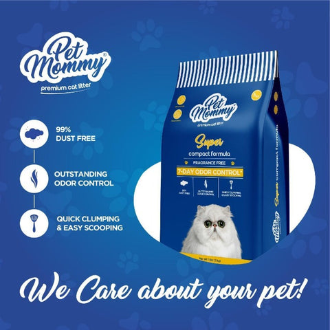 Image of Pet Mommy Cat Litter Dust Free available at allaboutpets.pk in Pakistan
