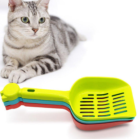 Cat Litter Scoop, green litter scoop, blue litter scoop, pink litter scoop available at allaboutpets.pk in pakistan.
