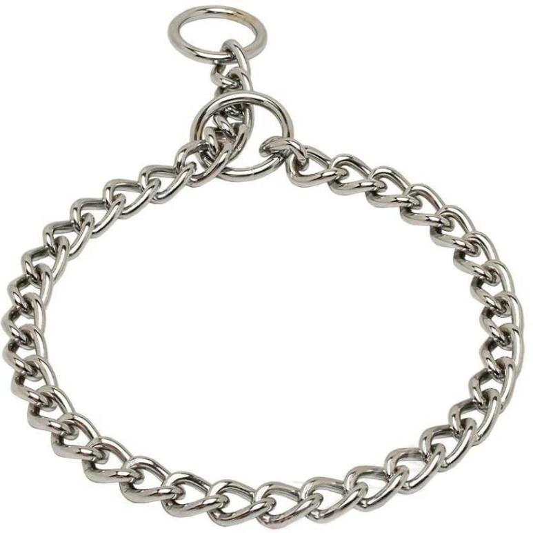 Choke Chain Chrome for dogs Ferplast  64cm available at allaboutpets.pk in pakistan.