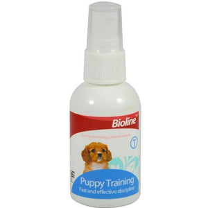 Bioline Puppy Trainer 120ml available at allaboutpets.pk