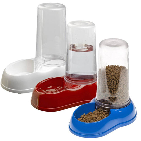 Ferplast Azimuth Feeder For Dogs & Cats, white pet feeder, red pet feeder, blue pet feeder available at allaboutpets.pk in pakistan.