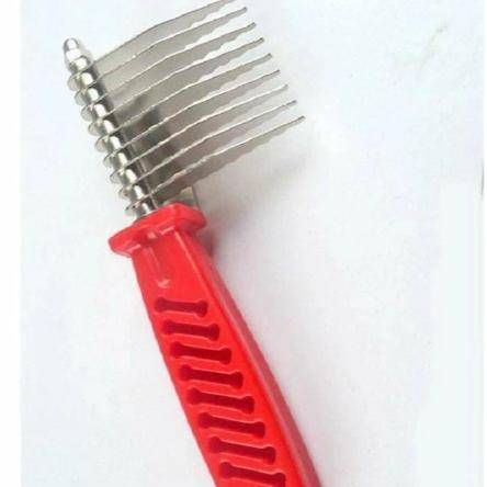 Deknotting Comb for Dogs & Cats, dog brush, cat comb, pet dematting brush available at allaboutpets.pk in pakistan.