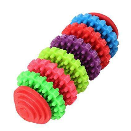 Puppy Dental Teething Toy multi color rings non toxic 7 rings available at allaboutpets.pk in pakistan.