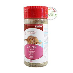 Bioline Catnip leaves for Removing Bad Breath & Hair Balls 30g available at allaboutpets.pk in Pakistan