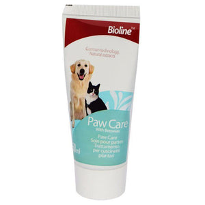 Bioline Paw Care Cream 50ml for cats and dogs available at allaboutpets.pk