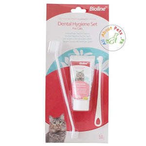 Bioline Dental Care Set For Cats available at allaboutpets.pk in Pakistan